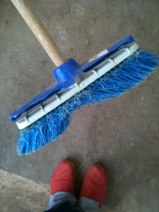 THIS is the state of most of our brooms. 