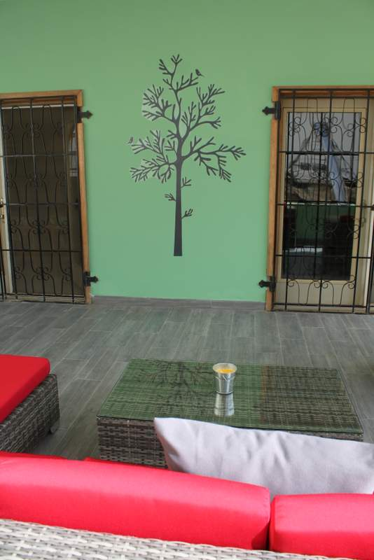 How great is that tree wall decal? I bought it at IKEA in Germany. 