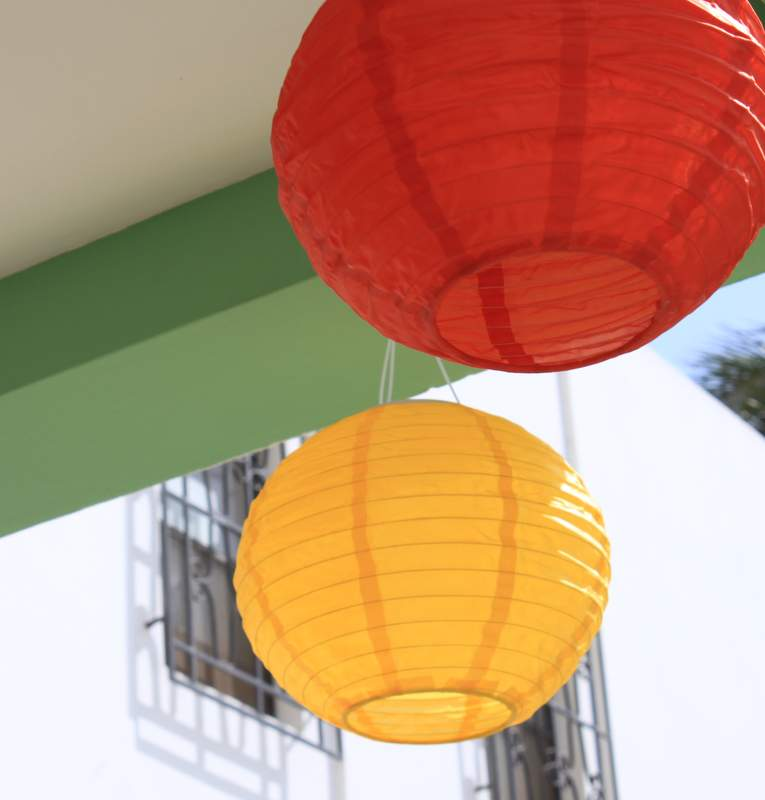 Solar lanterns - perfect!